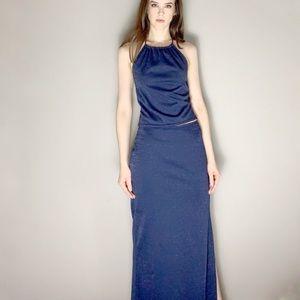 💋SALE 2000 vintage 2pc evening dress set
